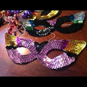 Accessories - Sequin Mask Pair SOLD OUT